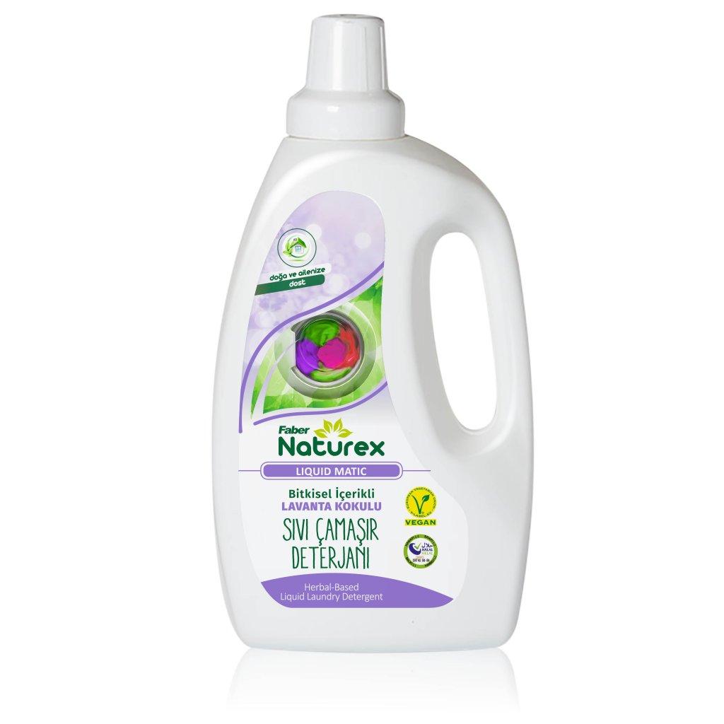 Faber Naturex Liquid Matic Sıvı Çamaşır Deterjanı (1,5 L Şişe)