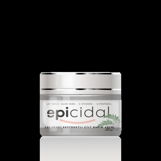 Epicidal Çay Ağacı Ekstraktlı Cilt Bakım Kremi (30ml)