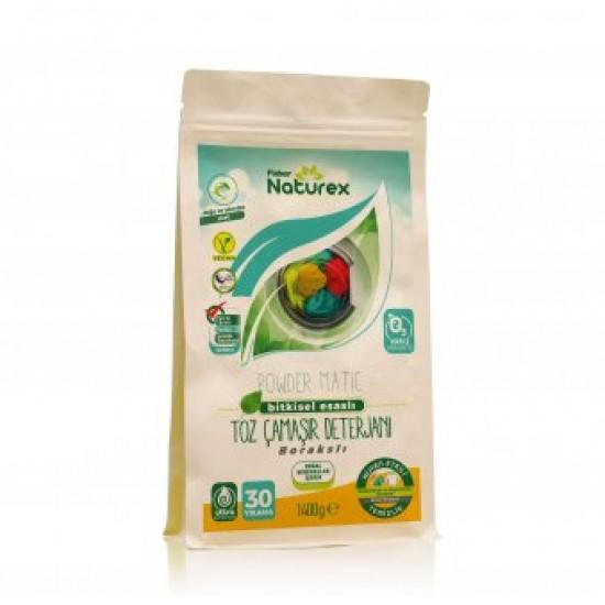 Faber Naturex Powder Matic Toz Çamaşır Deterjanı (1 Kg Kraft Torba)