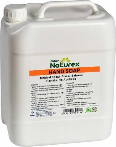 Faber Nature Hand Soap Portakal Limon Greyfurt Sıvı El Sabunu (5L)