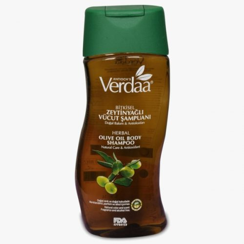 Verdaa Zeytinyağlı Vücut Şampuanı & Banyo Köpüğü (300 ml)